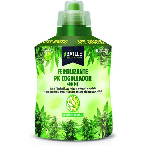 Fertilizante Ecoyerba COGOLLADOR. Batlle. 400 ml.