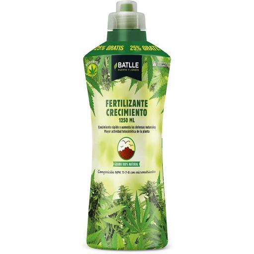 Fertilizante Ecoyerba CRECIMIENTO 1250 ml- Batlle