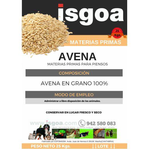 Saco AVENA 25 Kg Isgoa