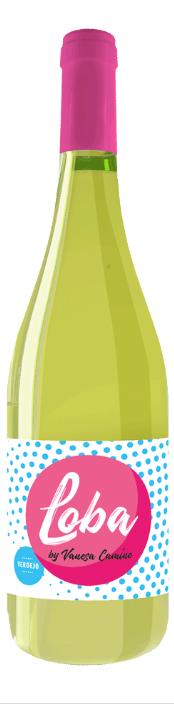 Vino Blanco VERDEJO Loba by Vanesa Camino.  750 ml