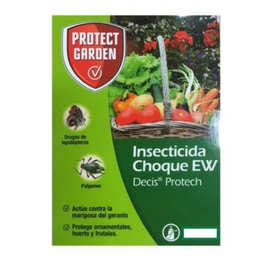 Insecticida de CHOQUE EW Decis protect. Protect garden 10ml