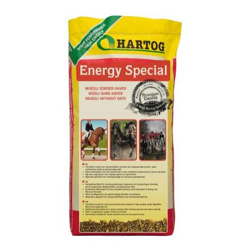 Pienso CONCENTRADO CABALLOS ENERGY ESPECIAL. Saco de 20Kg.  Hartog