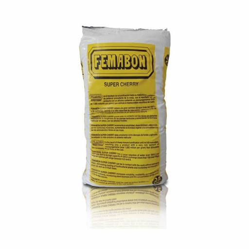 Sustrato Fertilizante FEMABÓN  ORGÄNICO SUPER CHERRY 25 Kg.