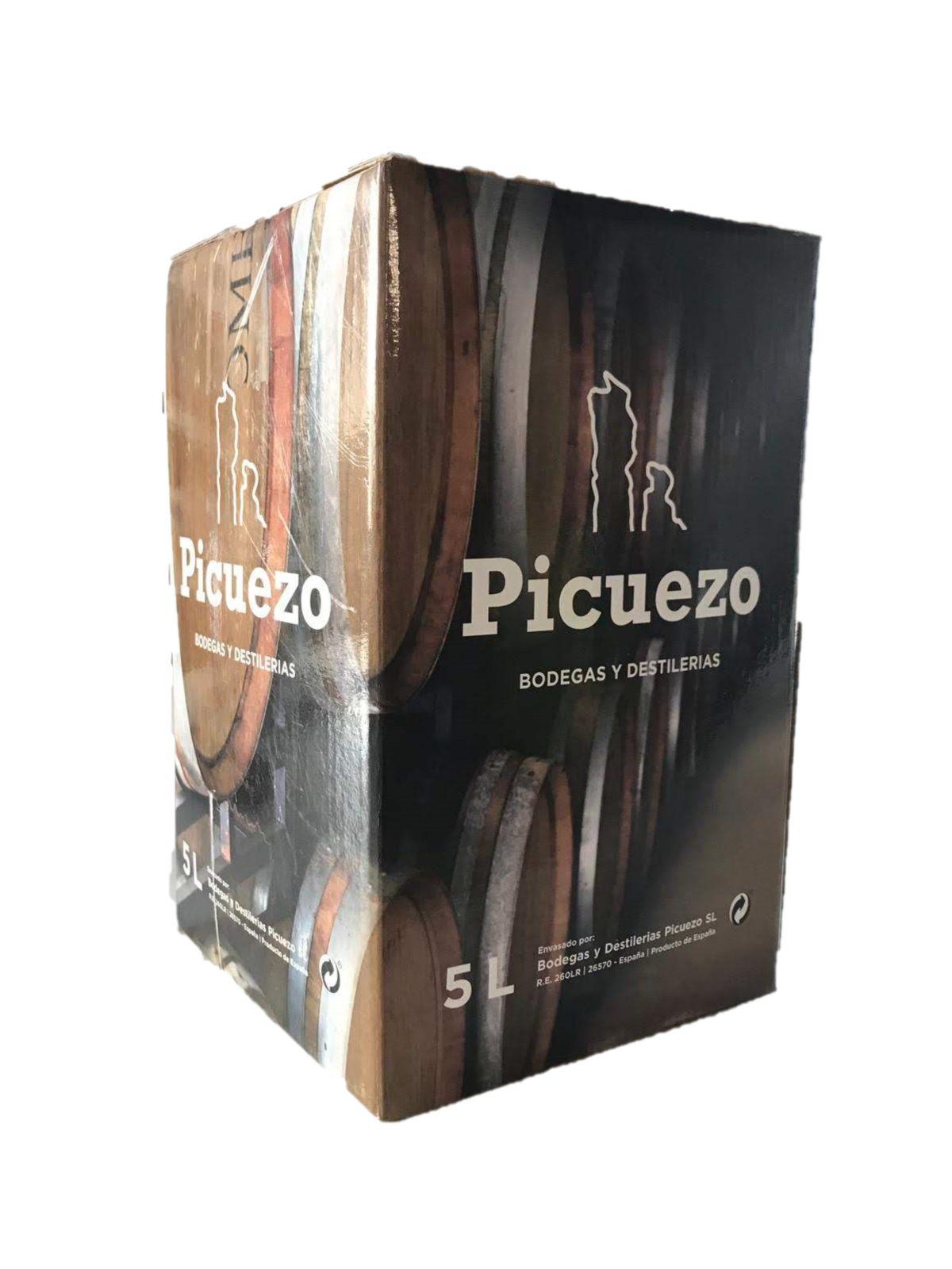 Vino CRIANZA JÓVEN. Bodegas y Destilerias Picuezo, S.L. Bag in box 5L