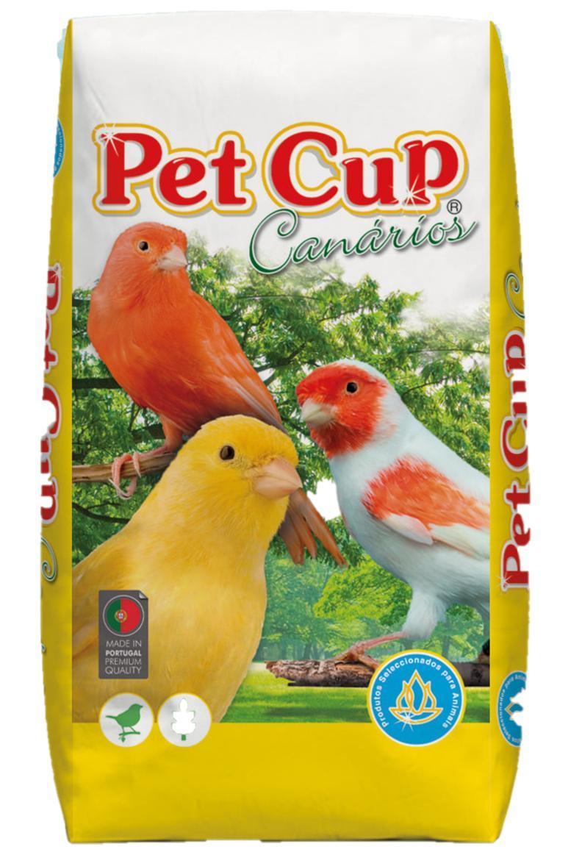 Pet -Cup Mixtura CANARIOS ELITE SIN AVENA. Saco 20Kg.