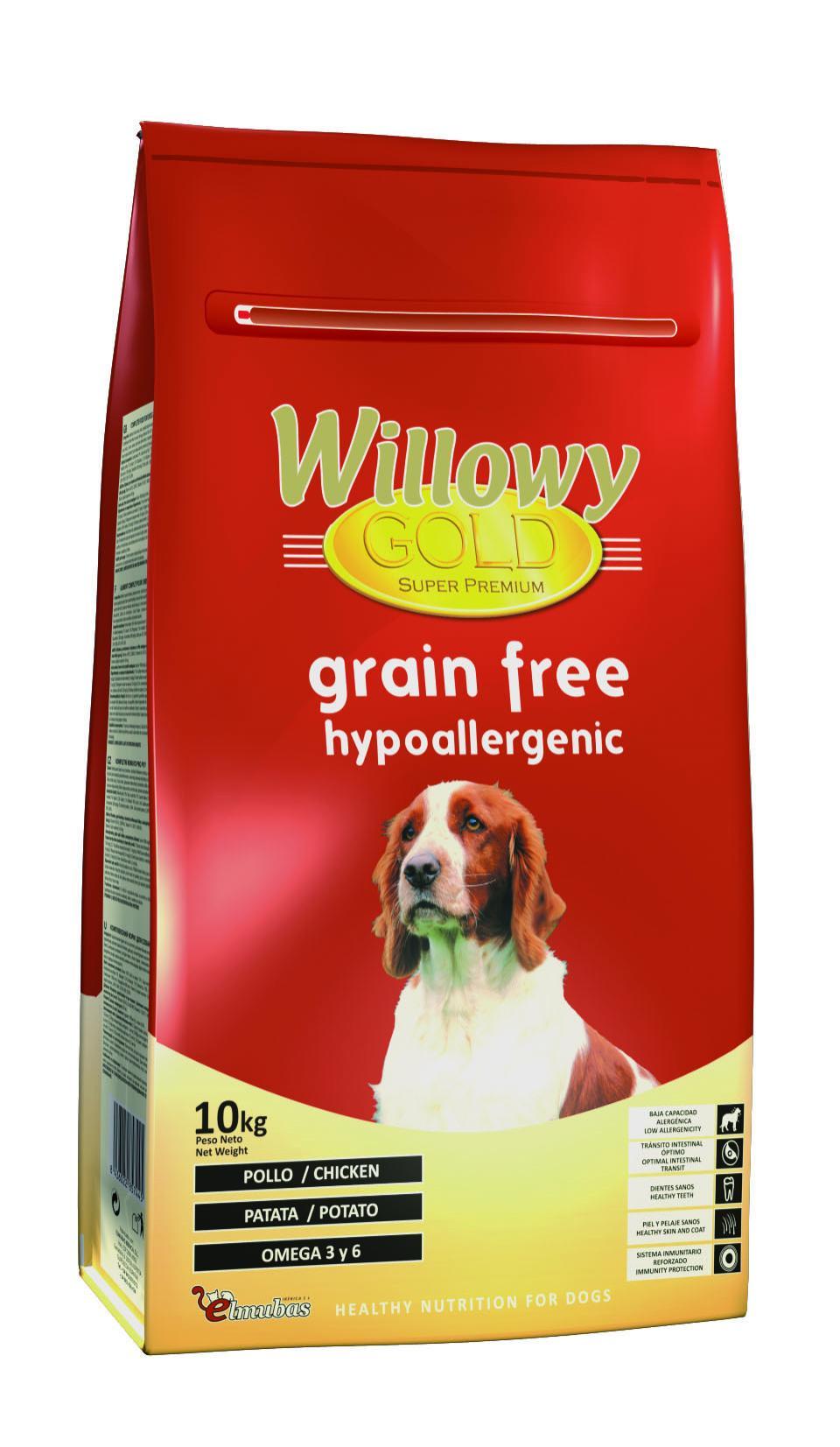 Willowy Gold GRAIN FREE. Hypoallergenic