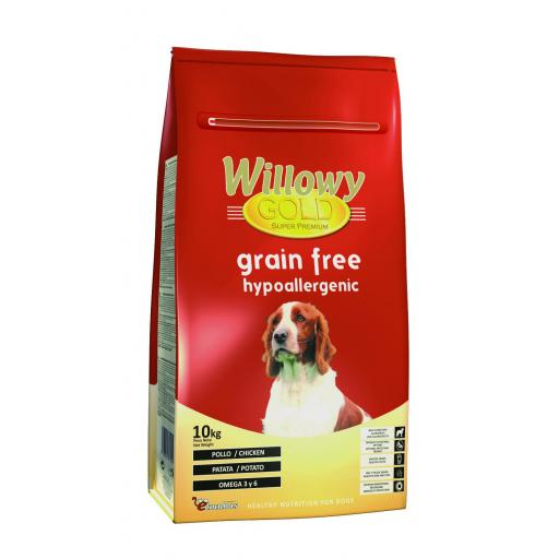 Willowy Gold GRAIN FREE. Hypoallergenic