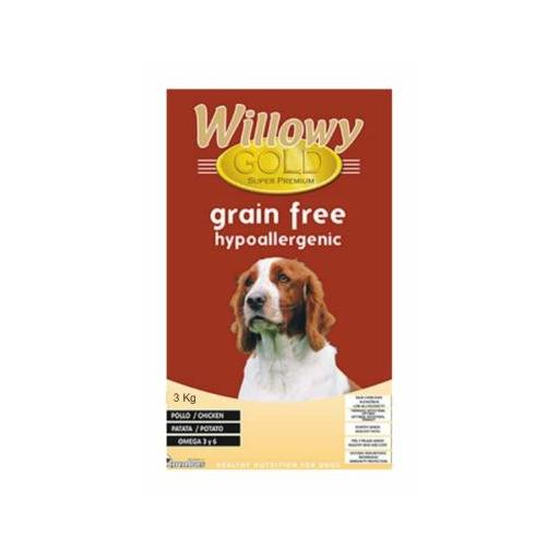 Willowy Gold GRAIN FREE. Hypoallergenic    [1]