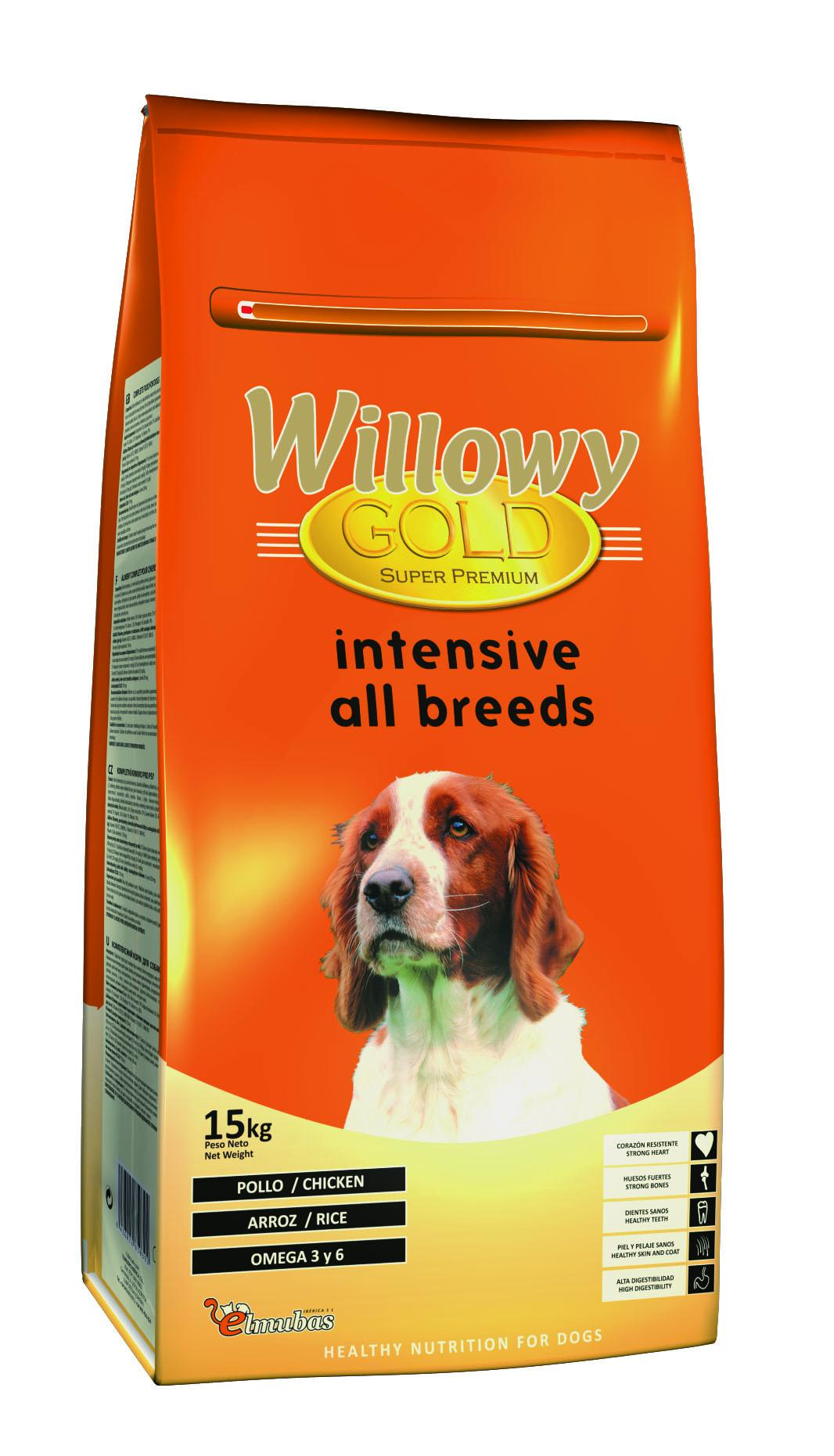 Willowy Gold INTENSIVE all breeds