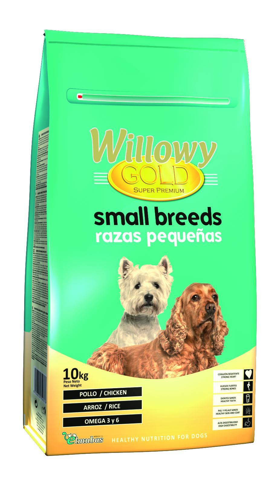 Willowy Gold RAZAS PEQUEÑAS