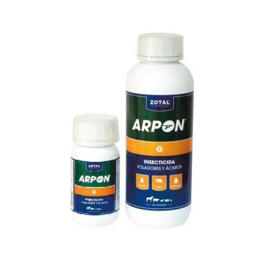 Insecticida ARPÓN G. Zotal. 250 ml.