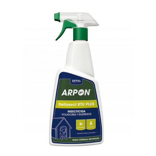 Insecticida Arpon Deltasec 015 Rtu Insecticida Rastreros. ZOTAL. 750 ml.