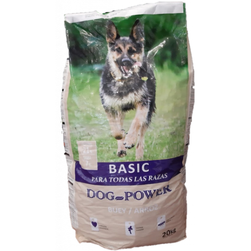 Pienso Perros Dog-Power BASIC Saco 20 Kg.