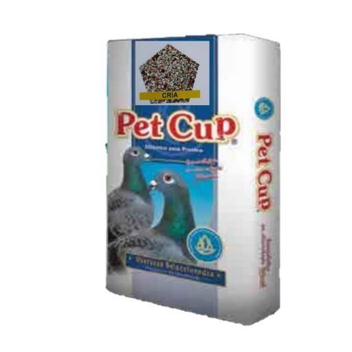 Mezcla PALOMAS CRIA. Pet Cup  Saco 25 kg