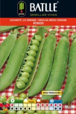 Semilla GUISANTE Rondo Senador. Batlle. 250 gr.