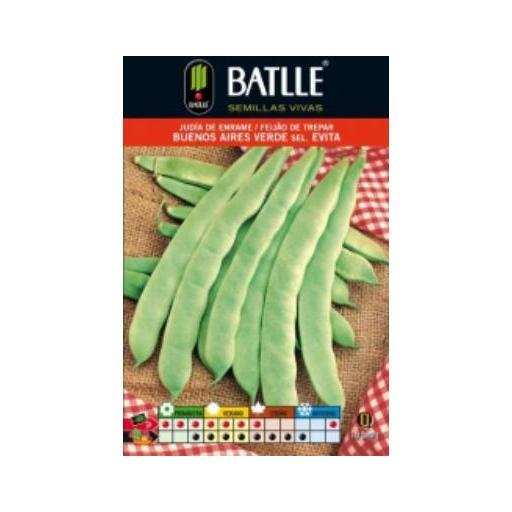 Semilla JUDIA DE ENRAME Buenos Aires Verde. Batlle. 250 gr.