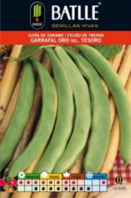 Semilla JUDIA DE ENRAME Garrafal Oro. Batlle. 250 gr.