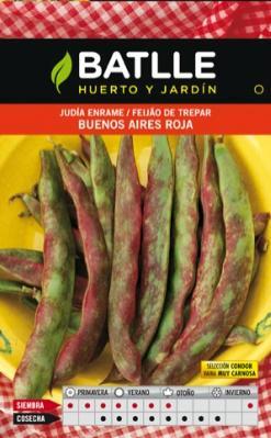 Semilla JUDIADE ENRAME  BUenos Aires Roja. Batlle. 250 gr.