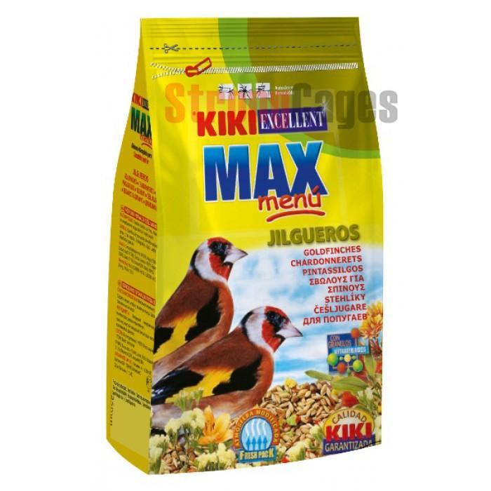Kiki Excellence MaxMenú JILGUEROS 500 gr.