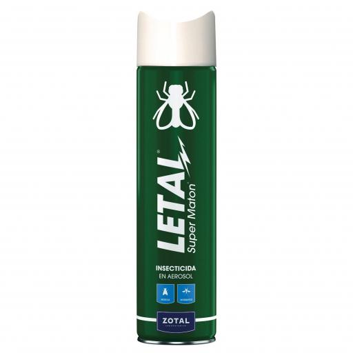 Insecticida Letal SUPERMATÓN Zotal. Spray 1000 ml.