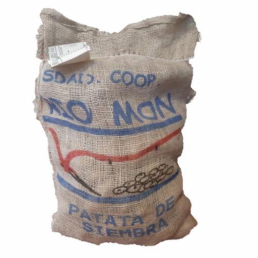 Patata de Siembra Certificada BARAKA Y/O AGRIA: Calibre 35/55. Saco 10 Kg. Sdad. Coop. Rio Mon. Burgos