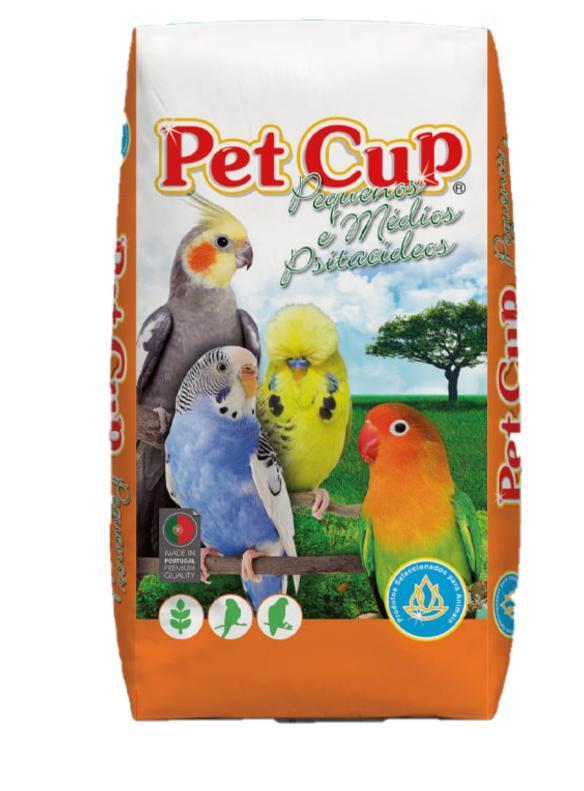 Pet -Cup Mixtura AGAPORNIS PREMIUN Saco 20Kg.