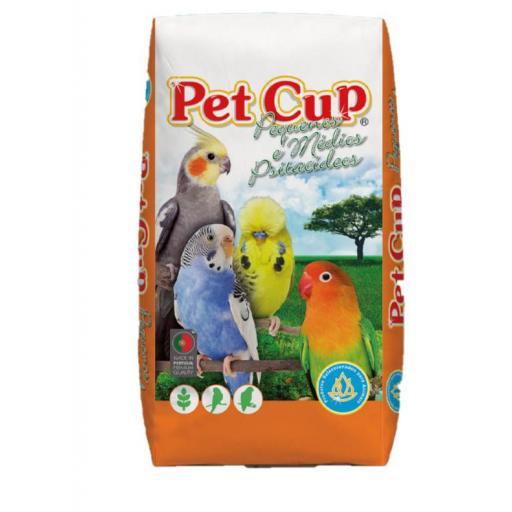 Pet -Cup Mixtura PERIQUITOS CLASSIC Saco 20Kg.