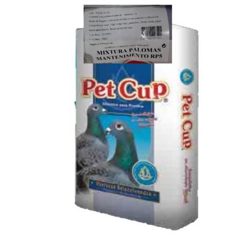 Mezcla PALOMAS MANTENIMIENTO RP5. Pet Cup  Saco 25 kg