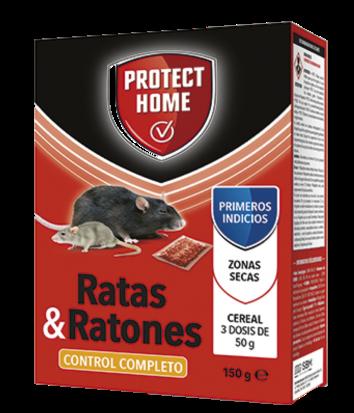 Raticida PROTECT HOME RADICUM Cereal . Caja 150 gr.
