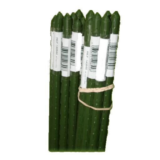 TUTOR jardín verde PLASTIFICADO 180cm / 210 cm
