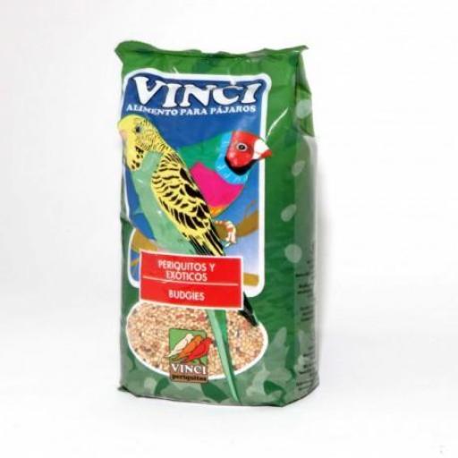 Vinci PERIQUITOS Y Exoticos. 25 Kg.