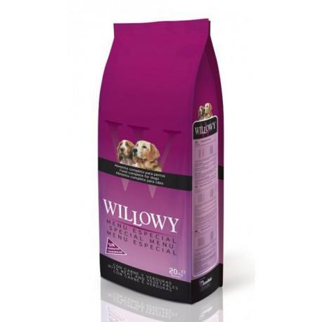 Willowy MENÚ ESPECIAL