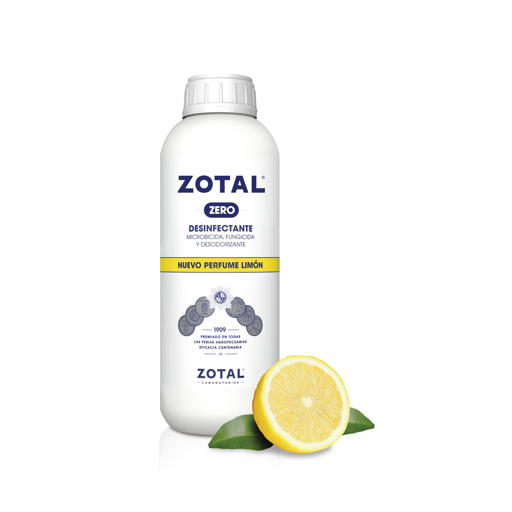 Desinfectante ZOTAL ZERO Limón. Zotal. 250 ml ANTI COVID-19
