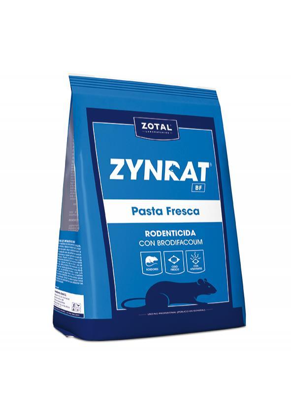 Rodenticida ZYNRAT® BF Pasta Fresca. 150 gr.