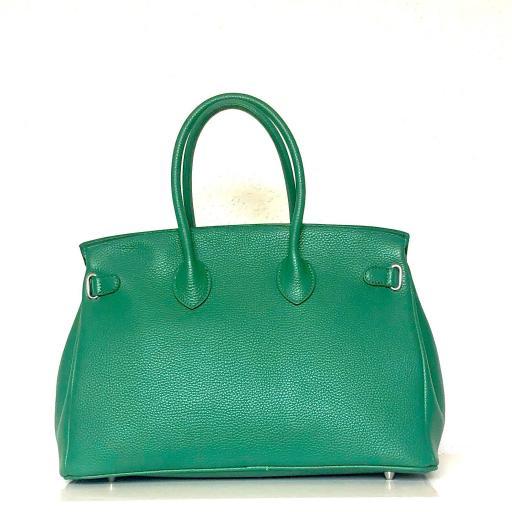 Bolso handbag candado verde [2]