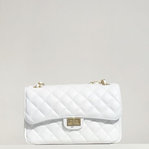 Bolso acolchado clasic blanco [1]