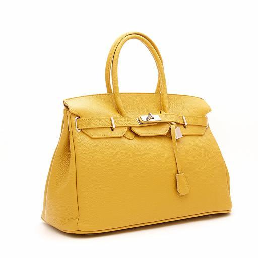 handbag candado mostaza [1]