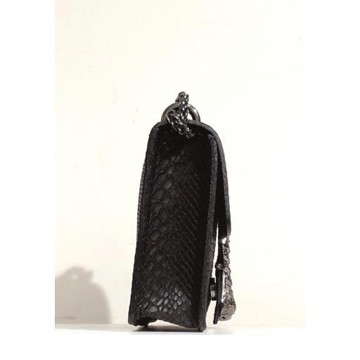 Bandolera mini Gucci negro. [2]