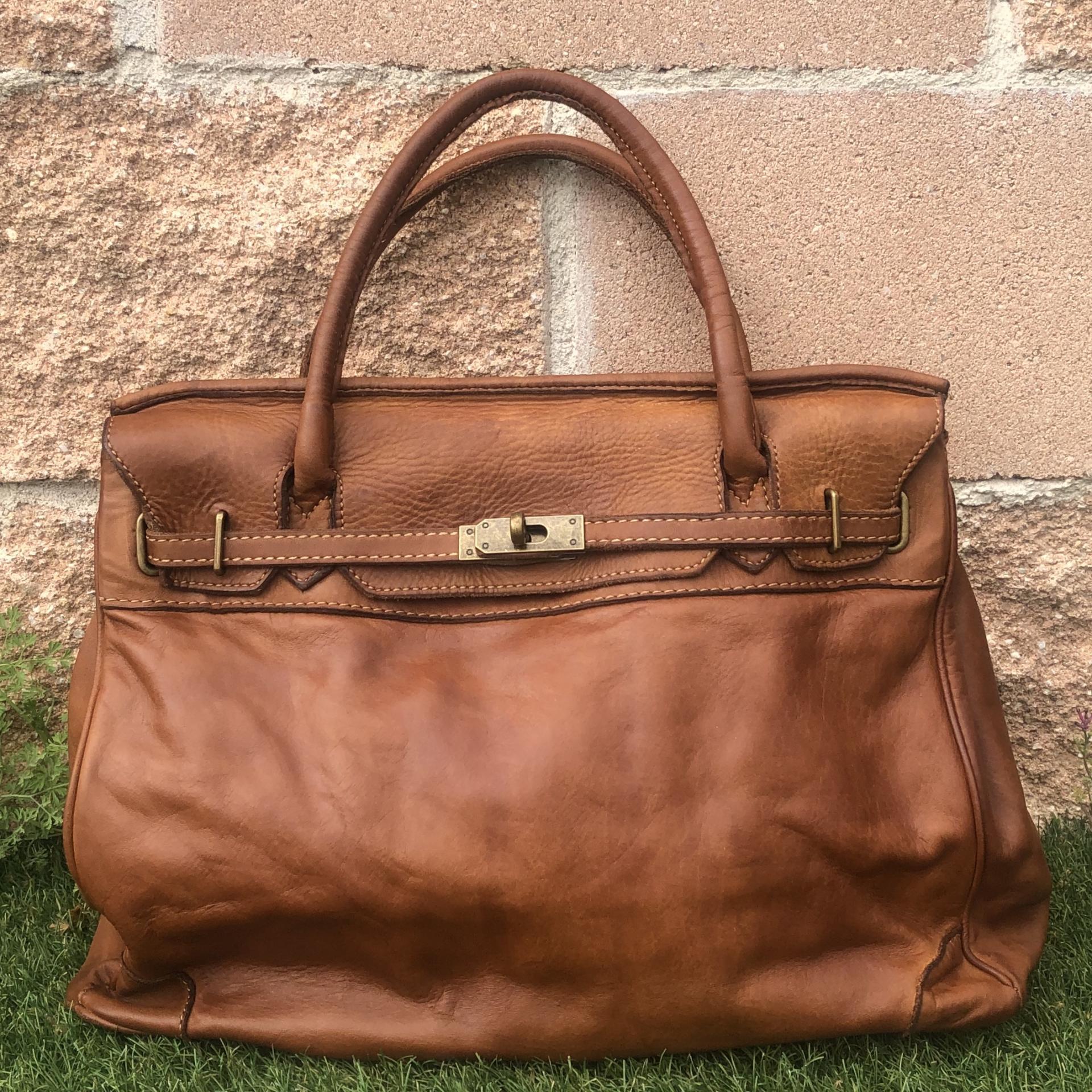 handbag   piel lavada