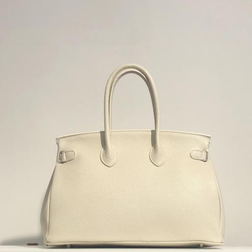 Handbag candado beigge  [2]
