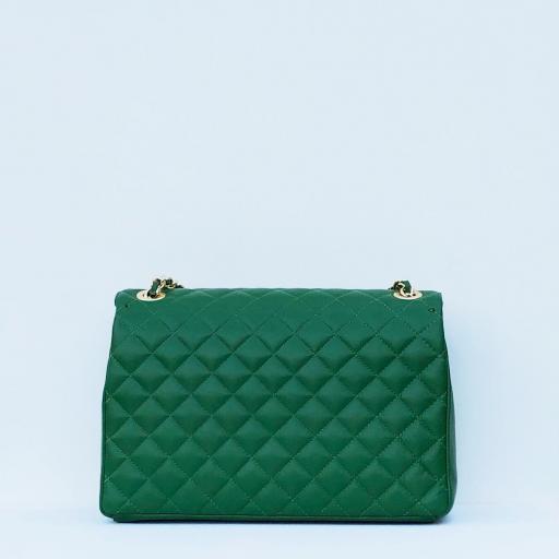 Bolso acolchado Maxi clasic verde [2]