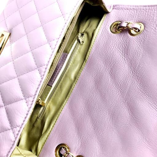 Bolso acolchado clasic lila [3]