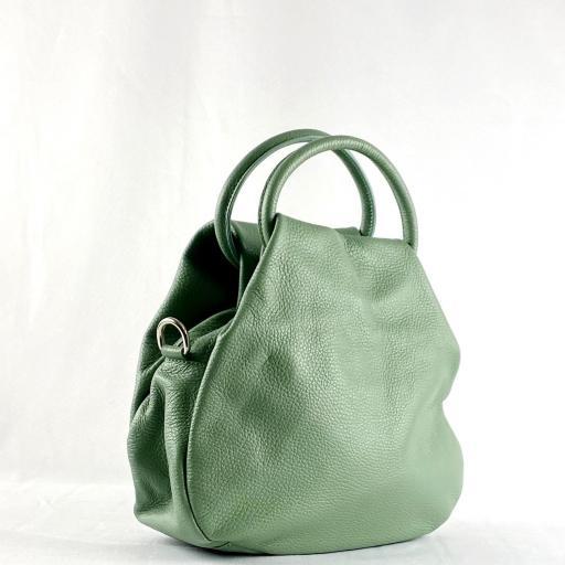 Bolso de mano aro verde