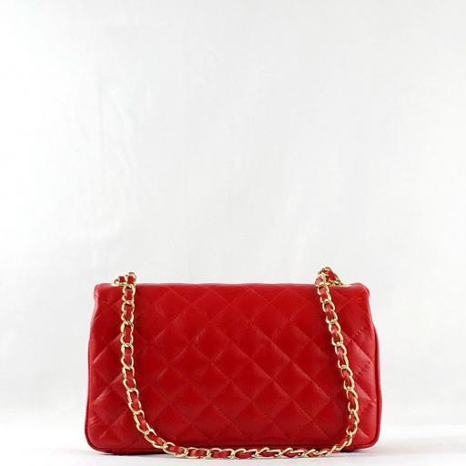 Bolso acolchado clasic rojo [2]