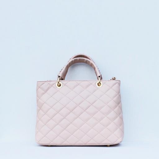 Bolso acolchado Club rosa nude [3]