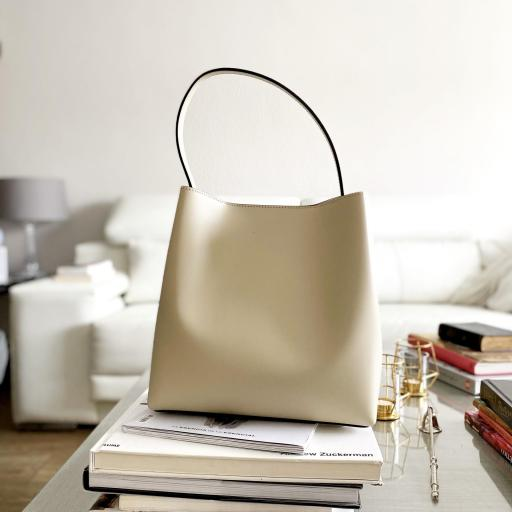 Bolso Athica beigge [0]