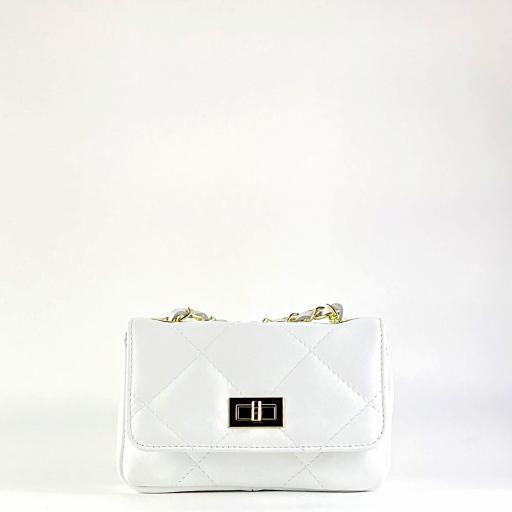Bolso mini 19 acolch blanco [3]