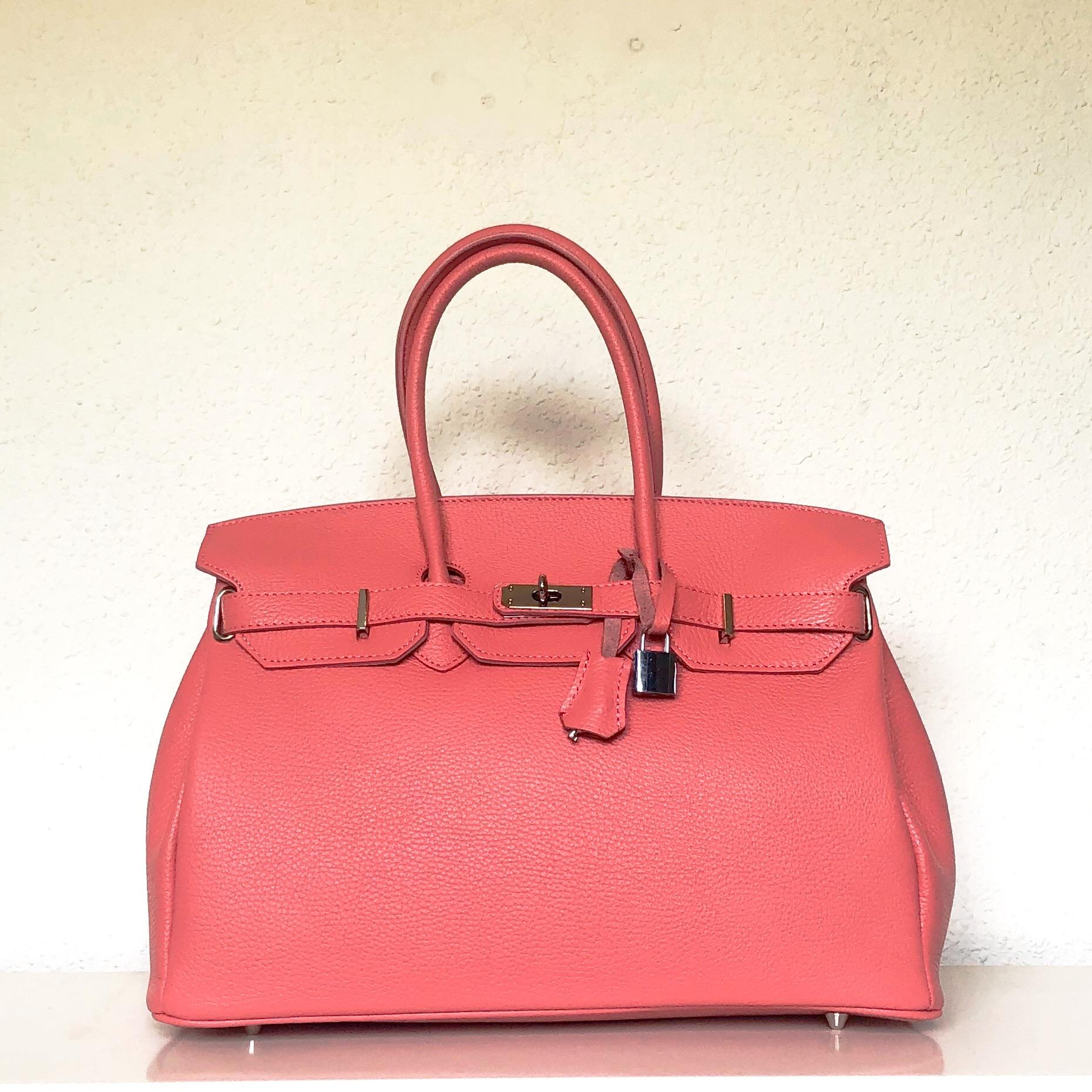 Handbag candado rosa chicle