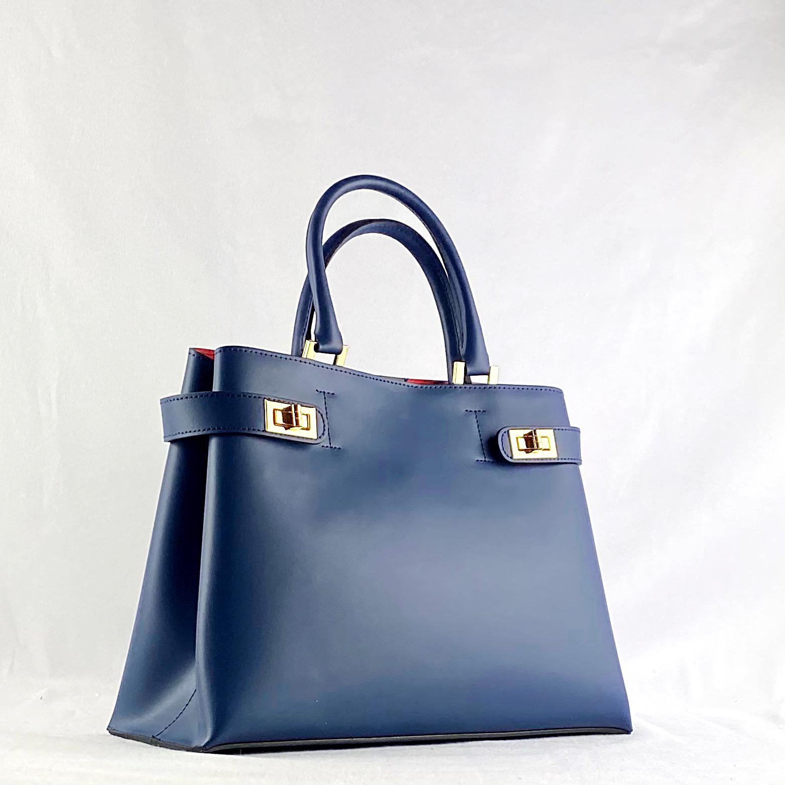 Bolso Penélope Azul Marino