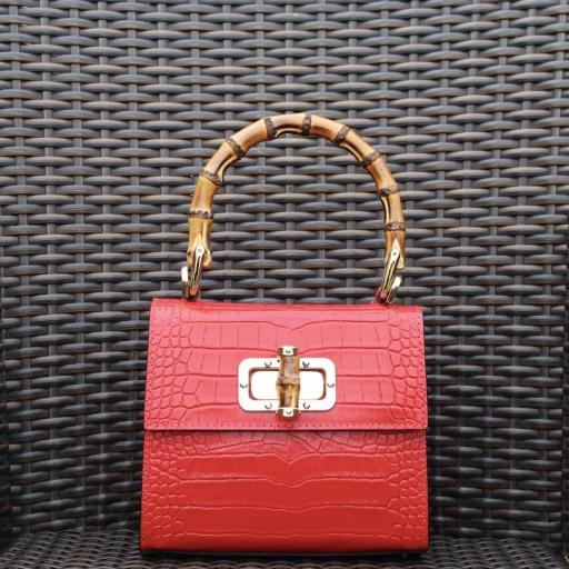 bolso bamboo rojo